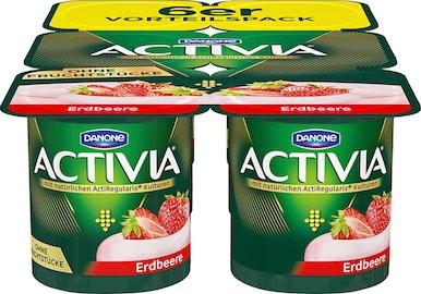 Yogourt avec de la purée de fruits Activia Danone