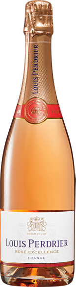 Louis Perdrier Rosé brut Vorderseite