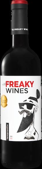 Freaky Wines Tempranillo Vino de la Tierra de Castilla Vorderseite
