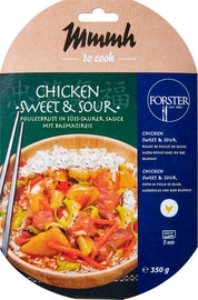 Forster/Mmmh Fertiggericht Chicken Sweet & Sour