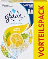 Recharge désodorisant Fresh Lemon Touch & Fresh Glade