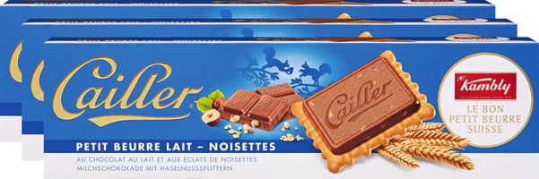 Biscotti Petit Beurre Latte-Nocciole Cailler