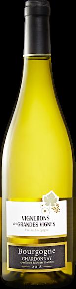 Vignerons des Grandes Vignes Chardonnay Bourgogne AOC Vorderseite