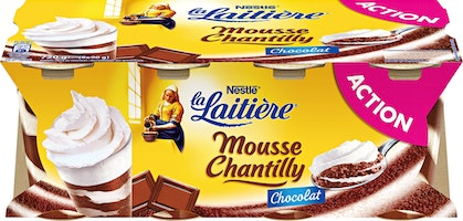 La Laitière Mousse Chantilly Nestlé