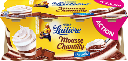 Nestlé La Laitière Mousse Chantilly