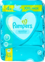 Lingettes Sensitive Pampers