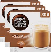 Capsules de café Café au lait Nescafé Dolce Gusto