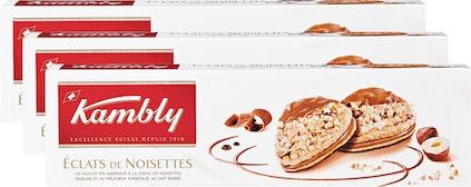 Biscuits Eclats de noisettes Kambly