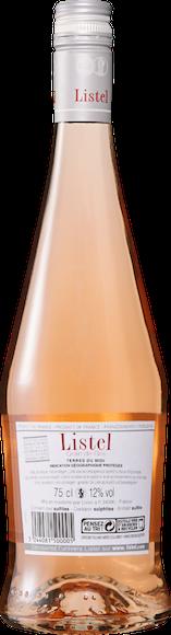 Listel Grain de Gris Rosé Terres du Midi IGP Arrière