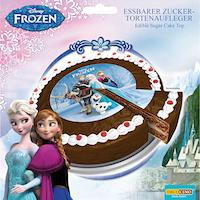 Décoration gâteau Frozen Decocino