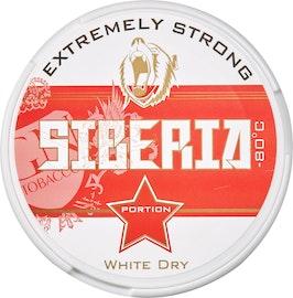 Snus White Dry Siberia