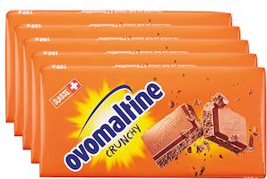 Tavoletta di cioccolata Ovomaltine Crunchy Wander