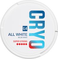 Snus All White Blue Mint G4 CRYO