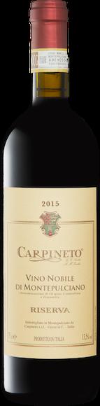 Carpineto Vino Nobile di Montepulciano DOCG Riserva Vorderseite