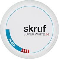 Snus Super White Fresh Skruf
