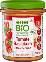 enerBiO Tomate-Basilikum Brotaufstrich