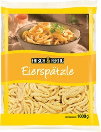 Frisch & Fertig Eierspätzli