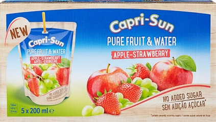 Capri-Sun Pure Fruit & Water Mela-Fragola