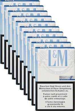 L&M Silver Blue Label