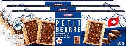 Denner Petit Beurre mit Milchschokolade