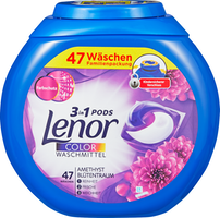 Lessive 3en1 Pods Color Amethyst & Floral Bouquet Lenor