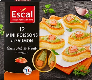 Bouchées apéritives Escal