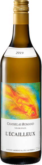 L'Ecailleux Chasselas Romand Vin de pays Vorderseite