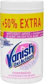 Vanish Oxi Action White