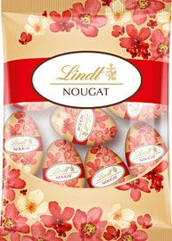 Lindt Nougat Eier Blüten-Edition