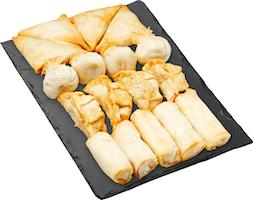 Vaschetta snack asiatici