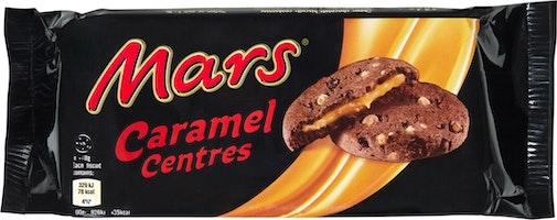 Mars Cookies Caramel Centres