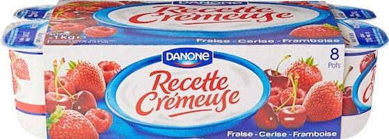 Yogurt Recette Crémeuse Danone