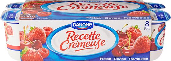 Danone Joghurt Recette Crémeuse