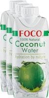 Eau de noix de coco pure à 100% Foco