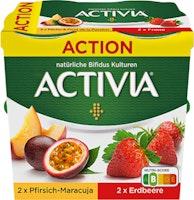 Yogurt Activia Danone Fragola / Pesca & Maracuja