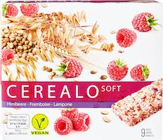 Barrette di cereali soft Lampone Cerealo