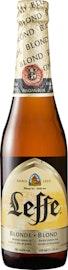 Birra chiara Leffe