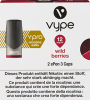 Vype ePen vpro Caps Wild Berries