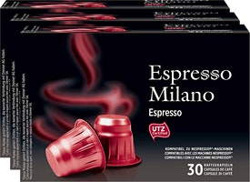 Capsules de café Espresso Milano Denner