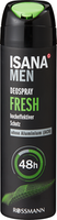 Deodorante spray Fresh ISANA Men