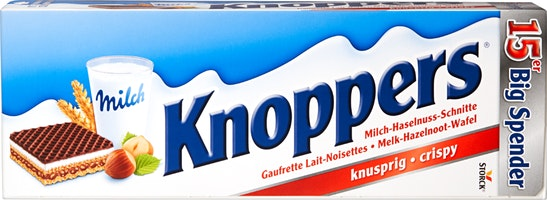 Wafer Latte-Nocciole Knoppers Storck