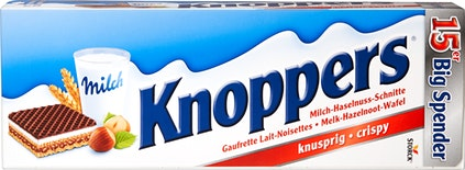 Storck Knoppers Milch-Haselnuss-Schnitte