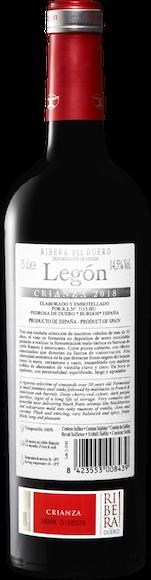 Legón Crianza D.O. Ribera del Duero  Zurück