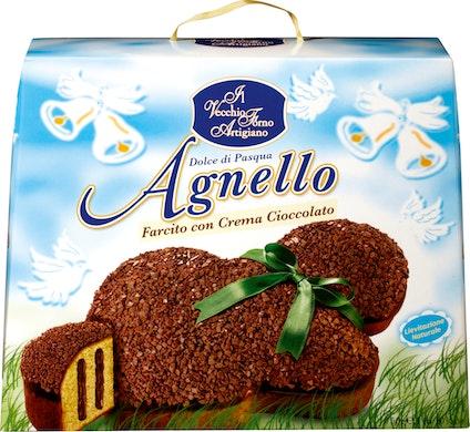 Agnello farcito con crema cioccolato Il Vecchio Forno Artigiano