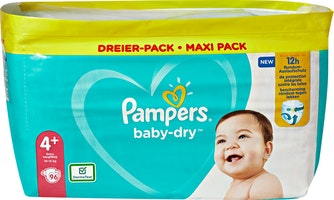 Couches Baby-Dry Pampers