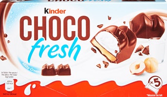Barrette di cioccolato Kinder Choco Fresh Ferrero