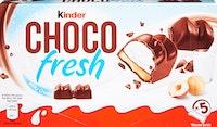Barres de chocolat Kinder Choco Fresh Ferrero