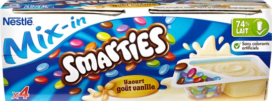 Yogurt Vaniglia Mix-in Nestlé