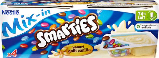 Yogurt Vaniglia Mix-in Nestlé