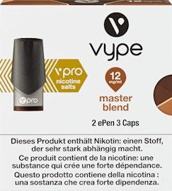 Vype ePen vpro Caps Master Blend